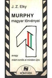 Murphy magyar törvényei - Elky, J .Z. - Régikönyvek