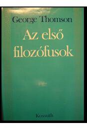 Az első filozófusok - Régikönyvek