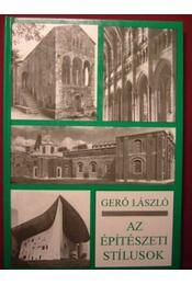 Az építészeti stílusok - Régikönyvek