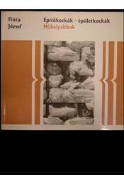 Építőkockák-épületkockák - Régikönyvek
