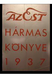 Az Est hármaskönyve 1937 - Régikönyvek
