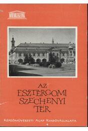 Az esztergomi Széchenyi tér - Régikönyvek