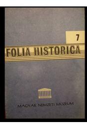 Folia historica 7 - Régikönyvek