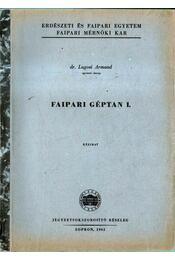 Faipari géptan I-II. (3 kötetben) - Régikönyvek