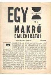 Új Symposion 1965/7-8. szám - Fehér Kálmán - Régikönyvek