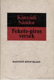 Fekete-piros versek - Régikönyvek