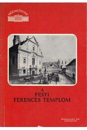 A pesti ferences templom - Régikönyvek