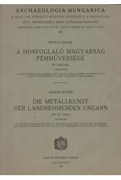 A honfoglaló magyarság fémművessége (táblakötet) - Régikönyvek