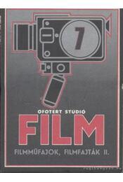 Filmműfajok, filmfajták II. - Régikönyvek