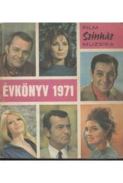 Film-Színház-Muzsika évkönyv 1971 - Régikönyvek