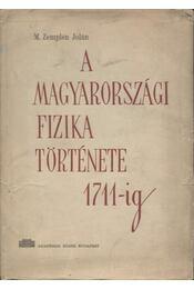 A magyarországi fizika története 1711-ig - Régikönyvek