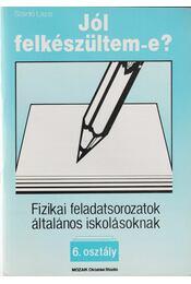 Fizikai feladatsorozatok általános iskolásoknak - 6. osztály - Régikönyvek