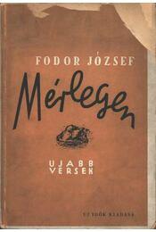 Mérlegen - Fodor József - Régikönyvek