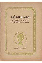 Földrajz IIV. - Régikönyvek