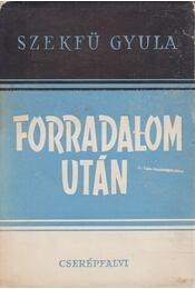 Forradalom után - Régikönyvek