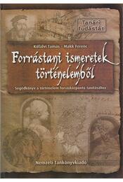 Forrástani ismeretek történelemből - Régikönyvek