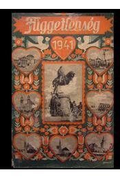 Függetlenség Évkönyve 1941 - Régikönyvek