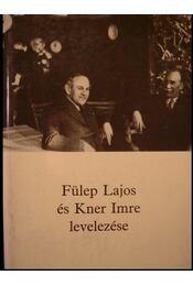 Fülep Lajos és Kner Imre levelezése - Régikönyvek