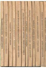 Tevan nyomda és kiadó 1913-1943. 12. kötet - Krúdy Gyula, Kosztolányi Dezső, Heltai Gáspár, Fazekas Mihály, Kisfaludy Károly, Petőfi Sándor, Csokonai Vitéz Mihály, Vörösmarty Mihály, Kisfaludy Sándor, Kármán József, Gvadányi József, Fáy András - Régikönyvek