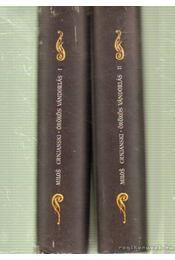 Örökös vándorlás I-II. kötet - Crnjanski, Milos - Régikönyvek