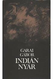 Indián nyár - Garai Gábor - Régikönyvek