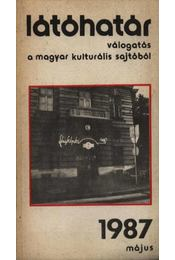Látóhatár 1987 május - Garai Gábor - Régikönyvek