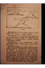 A géppuskás kiképzés alapelemei - Régikönyvek
