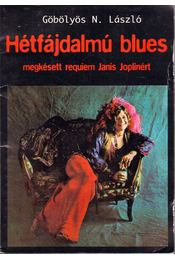 Hétfájdalmú blues - Göbölyös N. László - Régikönyvek