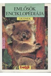 Emlősök enciklopédiája I. kötet - Régikönyvek
