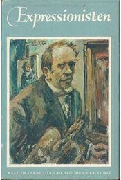 Expressionisten - Grohmann, Will - Régikönyvek