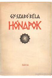Hónapok - Gy. Szabó Béla - Régikönyvek