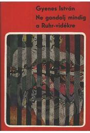 Ne gondolj mindig a Ruhr-vidékre - Gyenes István - Régikönyvek