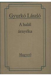 A halál árnyéka - Gyurkó László - Régikönyvek