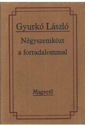 Négyszemközt a forradalommal - Gyurkó László - Régikönyvek
