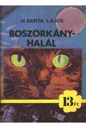 Boszorkányhalál - H. Barta Lajos - Régikönyvek