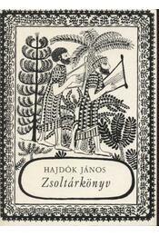 Zsoltárkönyv - Hajdók János - Régikönyvek