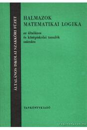 Halmazok, matematikai logika - Régikönyvek