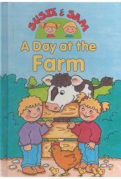 Susie & Sam - A Day at the Farm - Hamilton, Judy - Régikönyvek