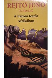 A három testőr Afrikában - Régikönyvek