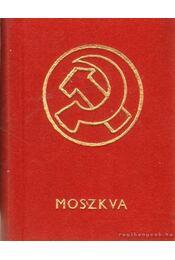 Moszkva (mini) - Harsányi László - Régikönyvek