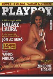 Playboy 2001. november - Hefner, Hugh M., Pósa Árpád - Régikönyvek