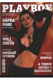 Playboy 2002. február - Hefner, Hugh M., Pósa Árpád - Régikönyvek