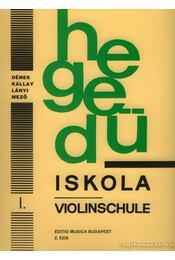 Hegedűiskola I. - Régikönyvek