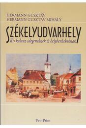 Székelyudvarhely - Hermann Gusztáv, Hermann Gusztáv Mihály - Régikönyvek