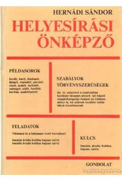 Helyesírási önképző - Hernádi Sándor - Régikönyvek