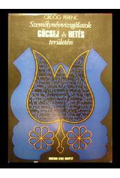 Személynévvizsgálatok Göcsej és Hetés területén - Régikönyvek