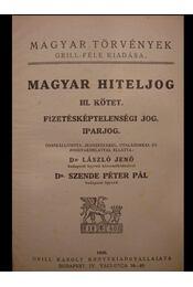 Magyar hiteljog III. kötet - Régikönyvek
