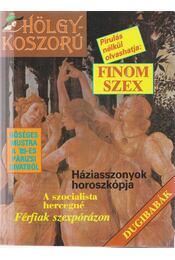 Hölgykoszorú 1989. - Régikönyvek