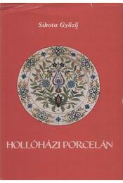 Hollóházi porcelán - Régikönyvek