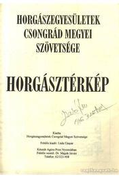 Horgásztérkép Csondgrád megye - Régikönyvek